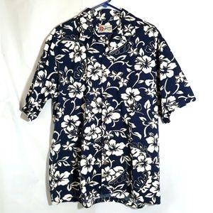 Hilo Hattie Men's XL Short Sleeves Hawaiian Shirt